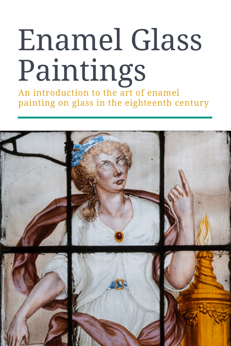 The Art Of Glass Painting Book