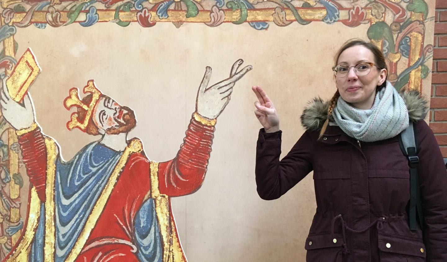 A visit to the 'Anglo-Saxon Kingdoms' exhibition - January 2019