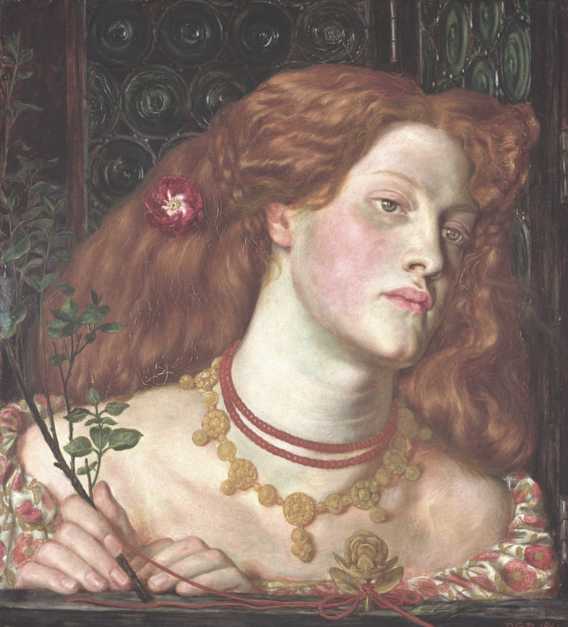 Portrait of Rosamund Clifford from Hisdoryan's post: 'The First Royal Mistress? Rosamund Clifford' - 19 February 2019