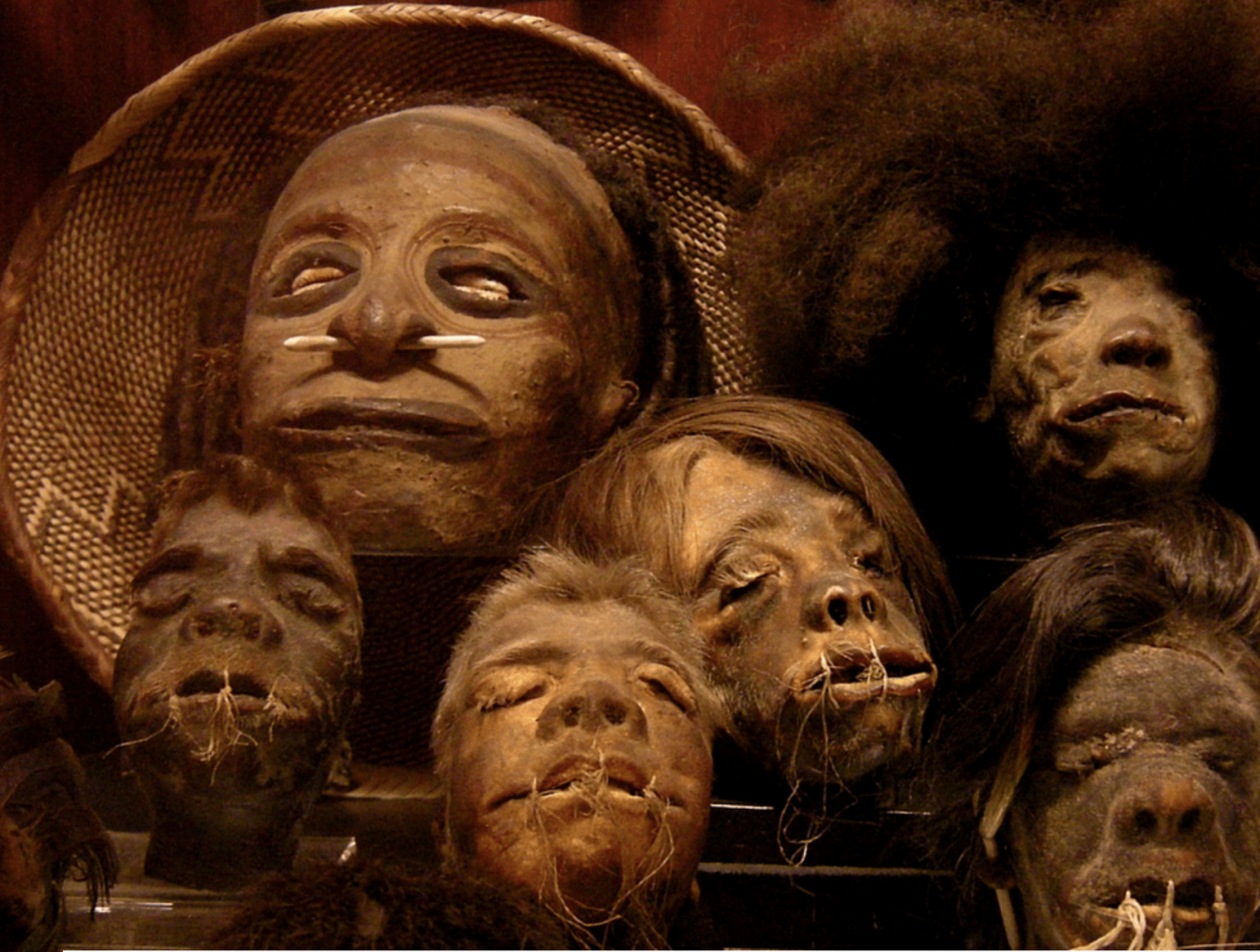 'How did they do it? Shrunken Heads' - a post by The New Weird. 19 February 2019