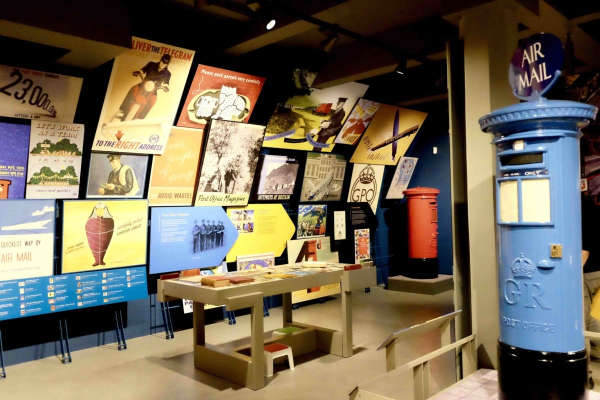 Interior shot of the Postal Museum from the 'Whats on in London?' webpage.
